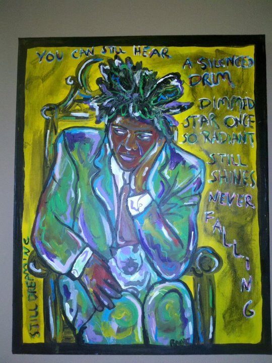 *tribute to Michel Jean Basquiat*